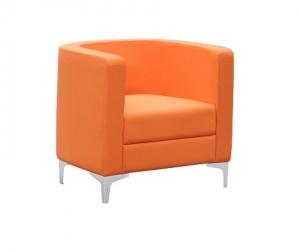 Miko Single Seater Tub Reception Chair Colour Orange