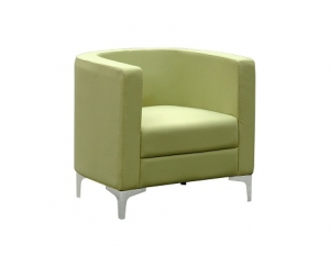 Miko Single Seater Tub Reception Chair Colour Green