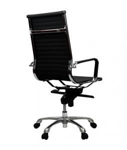 Aero Executive Boardroom High Back Black PU Office Chair