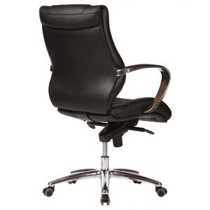 Camry Exectuive MB Black Bonded Leather Office Chair with Arms