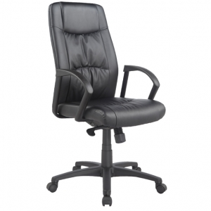 Civic Managers HB Black PU Office Chair