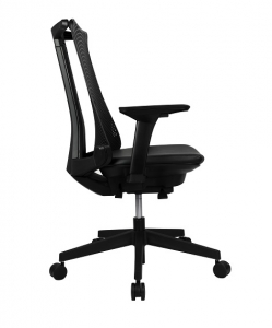 Webber Executive High Back PU Mesh Black Office Chair