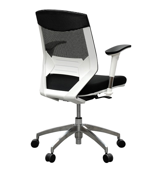 white frame office chair. vogue4maw managers mesh with white frame office chair