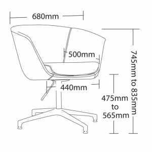 Demo Client Chair Dimensions