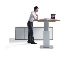 Evolution Electric Sit Stand Desk Raised