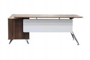Potenza Modern Designer Executive Desk with Return Buffet Colour Casnan