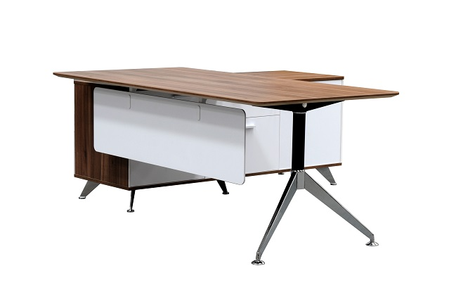 Potenza Executive Office Desk W1950 With Return Buffet