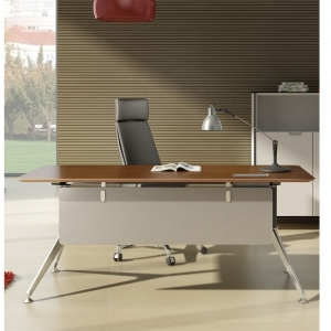 Potenza Modern Designer Executive Straight Desk Colour Casnan