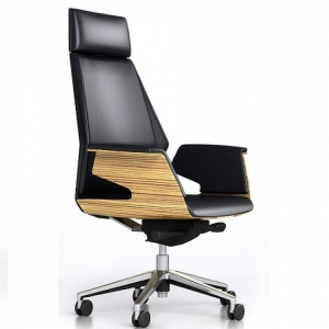 Novara Designer Executive High Back Leather Office Chair