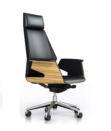 novara ceo executive black leather office chair ioffice furniture