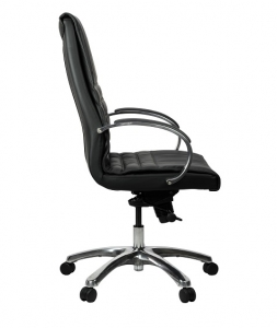 Franklin Executive High Back Black Leather Office Chair