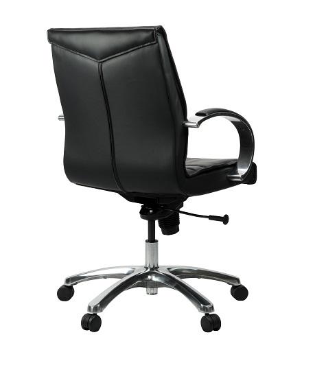 Franklin Medium Back Executive Black Leather Office Chair IOffice Furniture