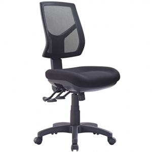 Hino Big Boy Mesh Back 3 lever Ergonomic Chair Black