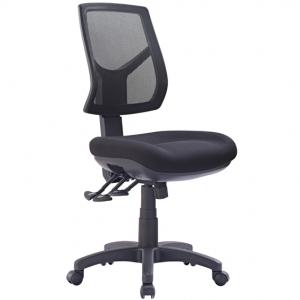 Hino Big Boy Mesh Back 3 lever Ergonomic Chair Black