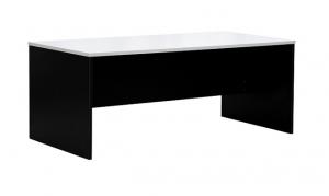 Essentials Express Commercial Straight Desk 1800W x 900D Colour White/Charcoal