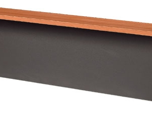 Essentials Express Commercial Reception Desk Hob 1500W Colour Cherry/Charcoal