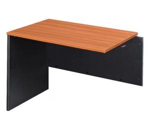 Essentials Express Commercial Desk Return 1200W x 600D Colour Cherry/Charcoal