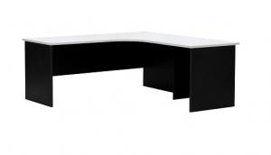 Essentials Express Commercial Corner Desk 1800W x 1800W Colour White/Charcoal