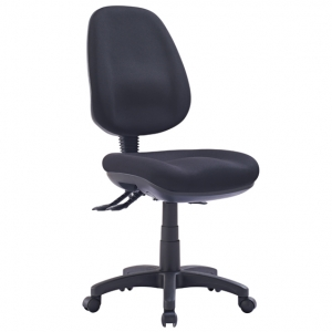 P350 AFRDI Approved Ergonomic High Back Black Fabric