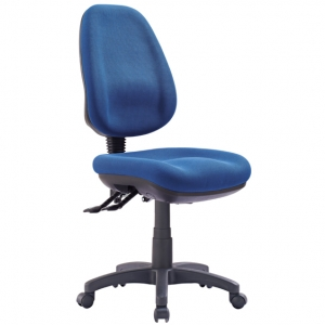 P350 AFRDI Approved Ergonomic High Back Blue Fabric