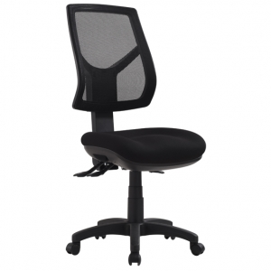Rio High Mesh Back 3 Lever Ergonomic Black Office Chair