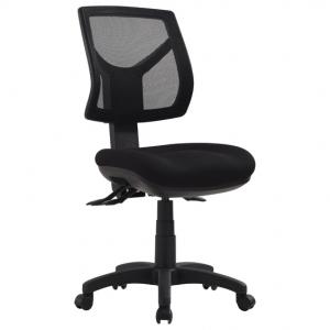 Rio Medium Mesh Back 3 Lever Ergonomic Black Office Chair