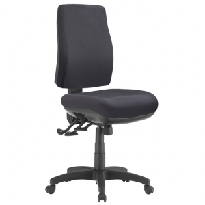 Spot Big Boy Square HB Task 3 lever Ergonomic Office Chair in Black