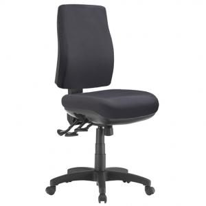 Spot Big Boy Square HB Task 3 lever Ergonomic Office Chair in Black