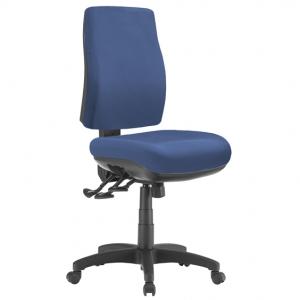 Spot Big Boy Square HB Task 3 lever Ergonomic Office Chair in Blue