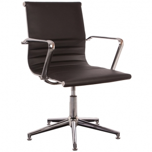 Swing Boardroom Office Chair Black PU