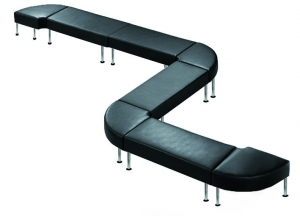 Techno Bench Zig Zag Seating