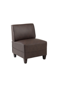 Diplomat Single Reception Seater Lounge Chairs Colour Black
