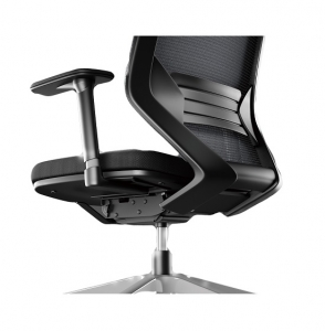 Vogue 4HA Executive Black Mesh with Headrest Office Chair