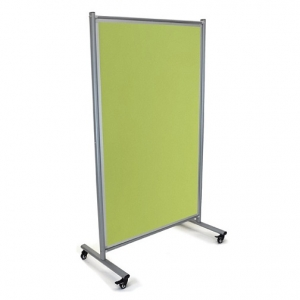 Modulo Mobile Pinboard-Noticeboard Colour Lime