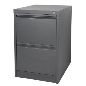 KIS filing 2 drawer cabinet graphite