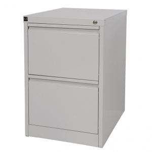 KIS filing cabinet 2 drawer grey
