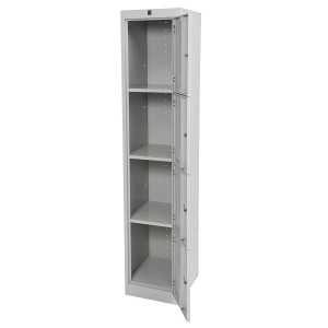 locker 4 door 380W open grey