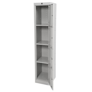 Kis Metal Locker 4 door 380W open grey