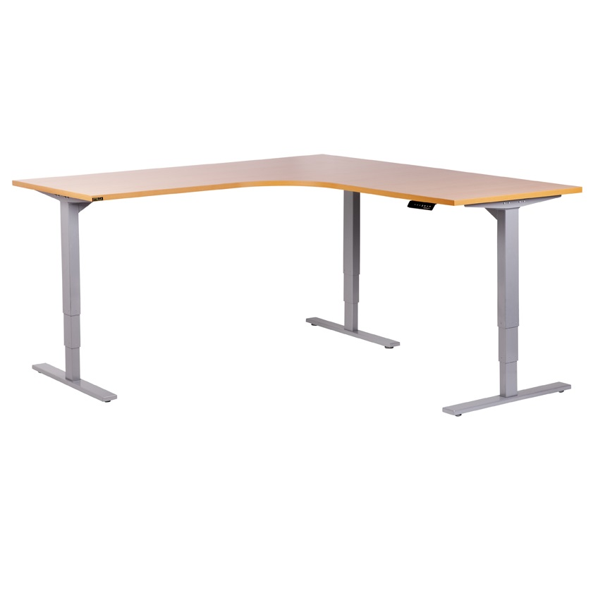Vertilift Corner Desk Electric Height Adjustable Sit Stand