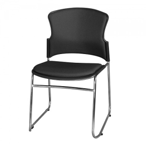 Adam Chair Black Fabric
