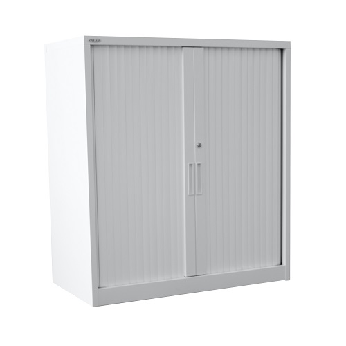 Steelco Tambour Door Cabinet 1015 I Office Furniture Sydney