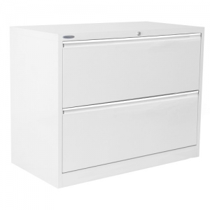 Steelco 2 Drawer Lateral Filing Cabinet Best Steel Storage Sydney