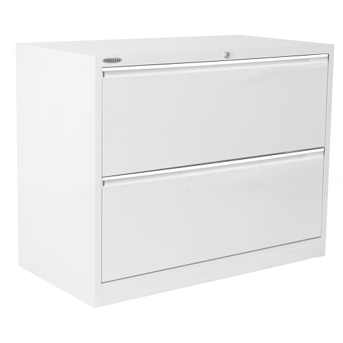 lateral file cabinet white. Steelco Lateral Filing Cabinet File White L
