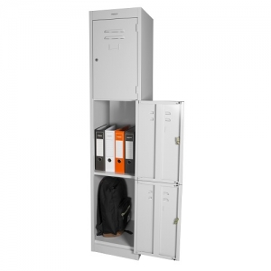 Steelco 3 Door Locker Largest Range of Premier Metal Storage