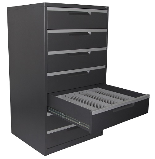 steelco cd dvd multimedia 7 drawer cabinet ioffice. Black Bedroom Furniture Sets. Home Design Ideas