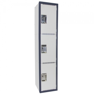 Steelco 3 Door Heavy Duty Schools Locker 380W