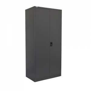 Steelco Stationery Cabinet 2000H Graphite Ripple Metal Cupboard