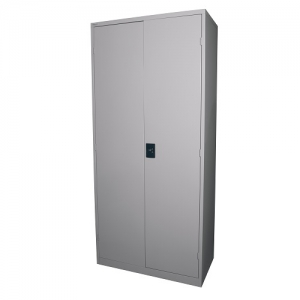 Steelco Stationery Storage Cabinet 1830H Silver Grey