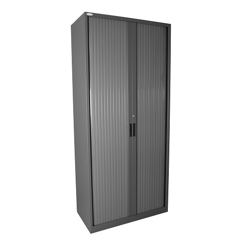 Steelco Tambour Sliding Door Storage Cabinet Ioffice