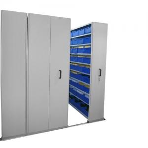 APC Ezi-Slide Aisle Saver 2500(L) x 2175(H) x 1200(W) x 400(D) with 5 Shelves Per Bay